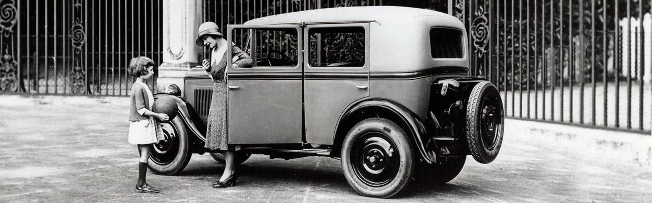 90 aniversario del Peugeot 201: primer modelo en llevar tres dígitos
