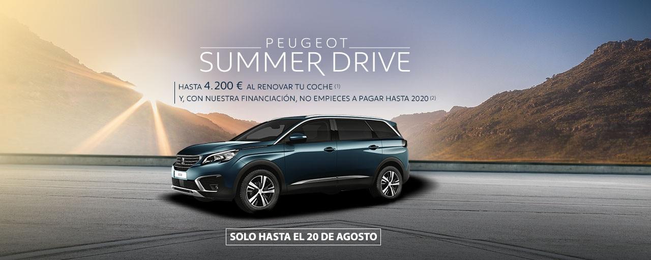 Suv Peugeot 5008 summer drive agosto