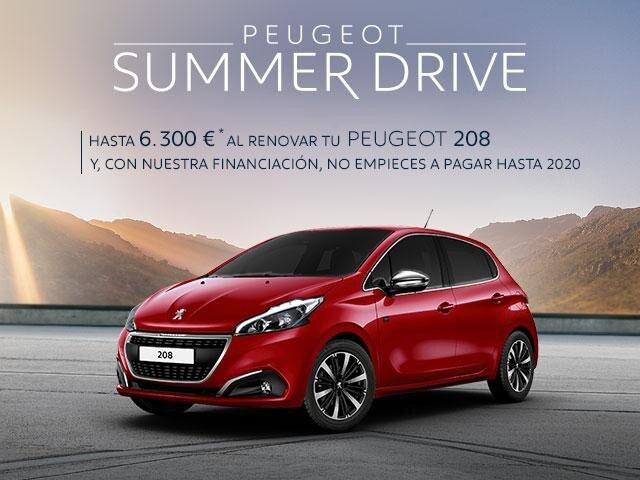Oferta Peugeot 208 - Summer Drive