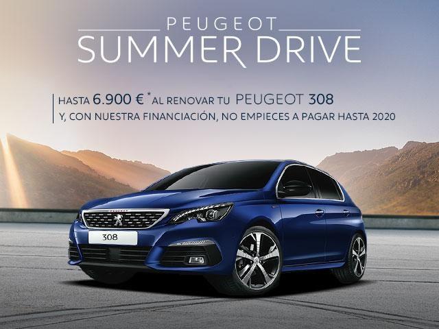 Oferta Peugeot 308 - Summer Drive