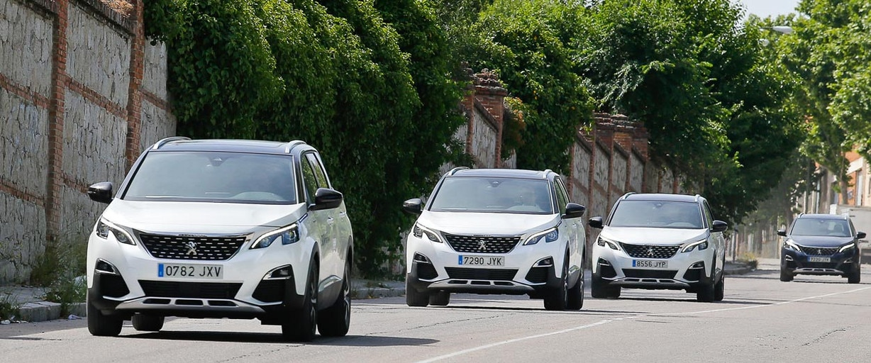 Peugeot 5008 SUV Trophy Madrid