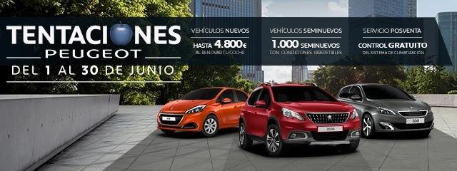 Tentaciones Peugeot Junio