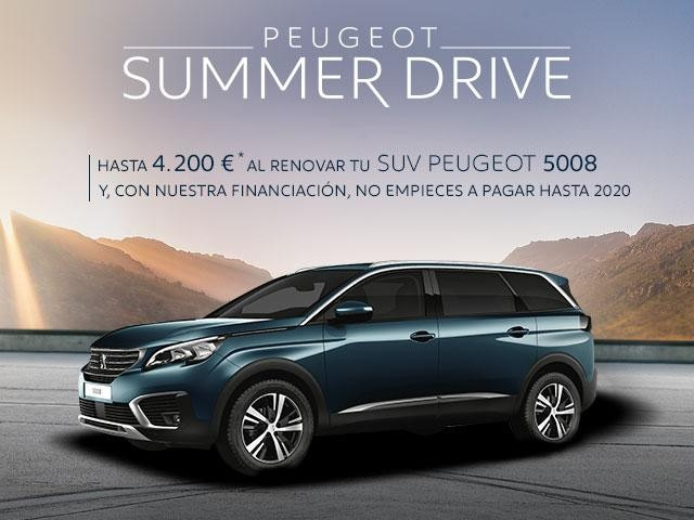 Oferta SUV Peugeot 5008 - Summer Drive