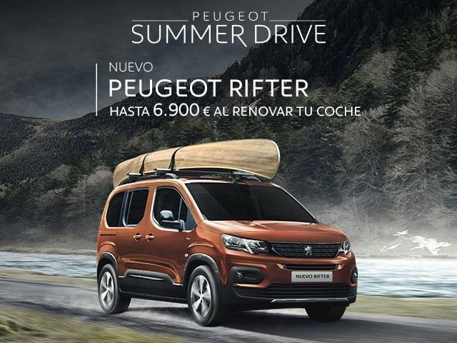 Oferta Nuevo Peugeot Rifter - Summer Drive