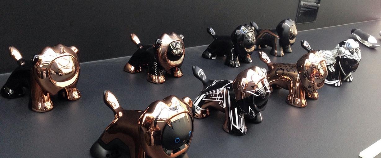 Figuras del leon por peugeot design lab