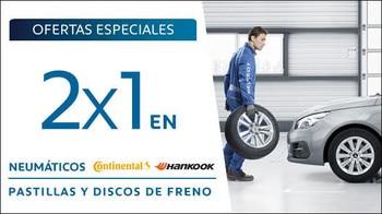 Promo Posventa 2x1 Neumáticos y Discos de freno