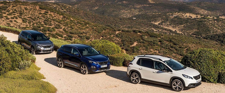 Peugeot marca SUV favorita españoles