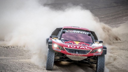 Rally Dakar Team Peugeot 1