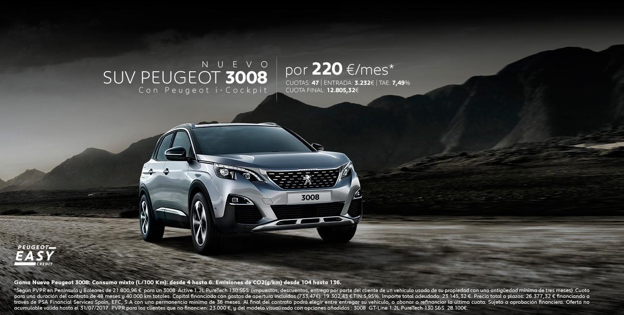 Oferta Suv Peugeot 3008