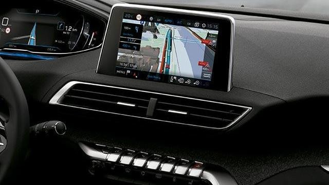 Navegación 3D conectada Nuevo SUV Peugeot 3008