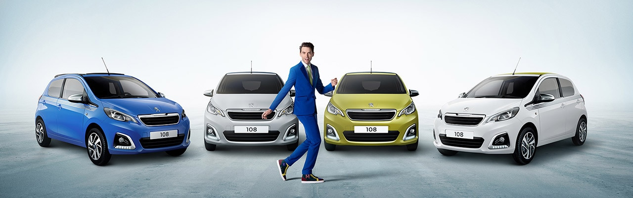 Mika-y-el-Peugeot-108-campaña-llena-de-elegancia-y-color