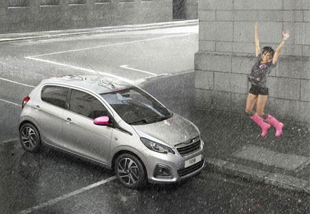 Peugeot 108 instinto urbano tattoo