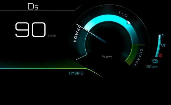 SUV PEUGEOT 3008 HYBRID4 - Hybrid modo