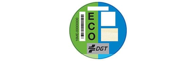 ECO DGT medio ambiente vehículos híbridos