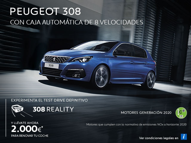 Mainbanner Peugeot 308 Test Drive