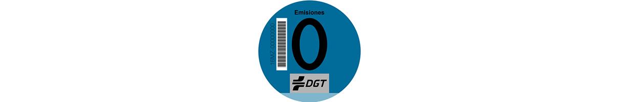Etiqueta ambiental cero Peugeot