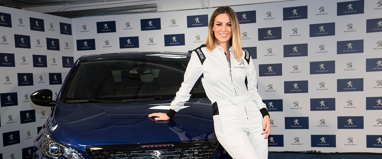 Edurne nueva embajadora de Peugeot