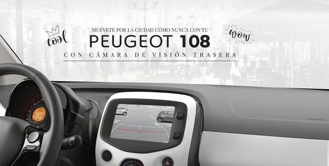 Peugeot 108 5 puertas interior