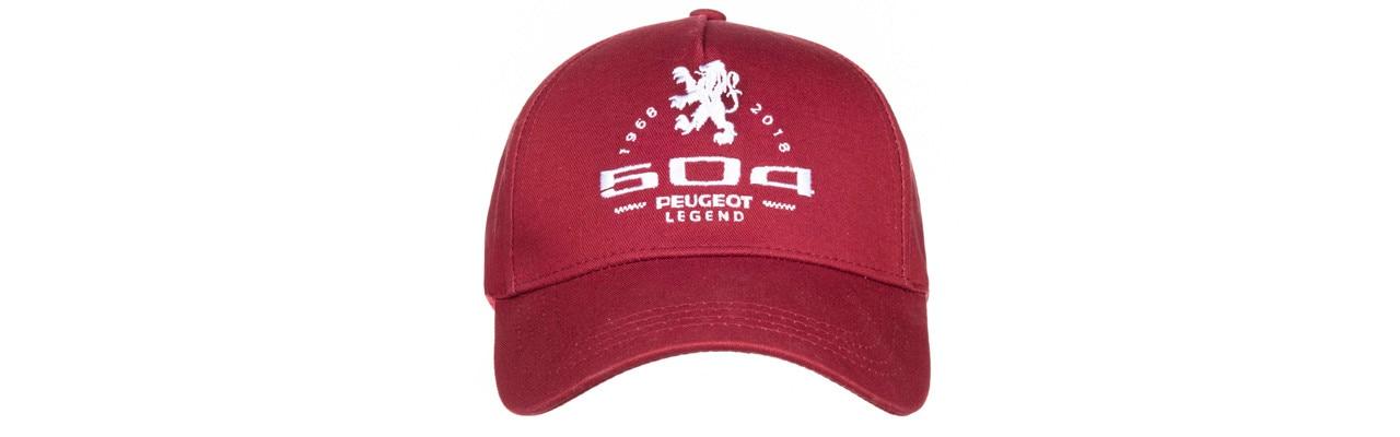 50-aniversario-peugeot-504-colección-gorras