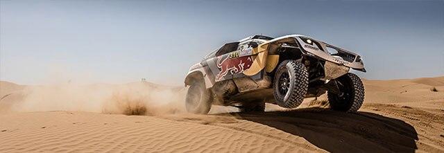 Podio Rally Marruecos Portada