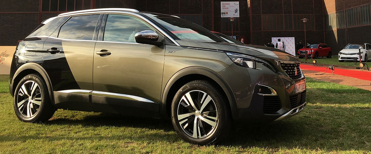El SUV Peugeot 3008, Red Dot Design_