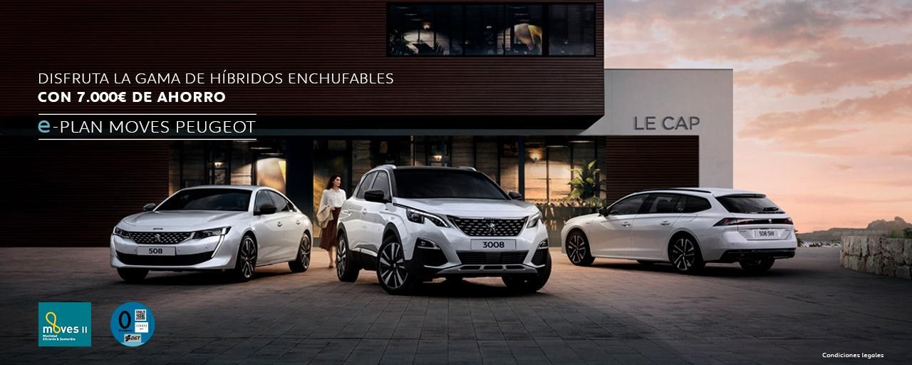 Gama Peugeot hibridos enchufables
