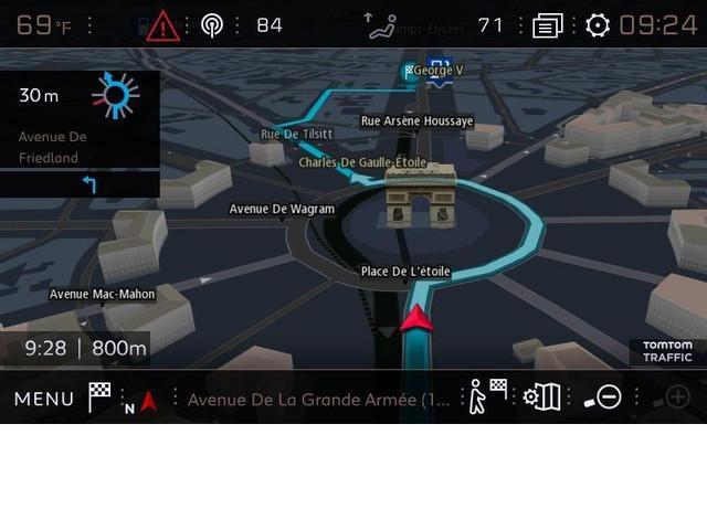 Navegador GPS TomTom con cartografía 3D conectada