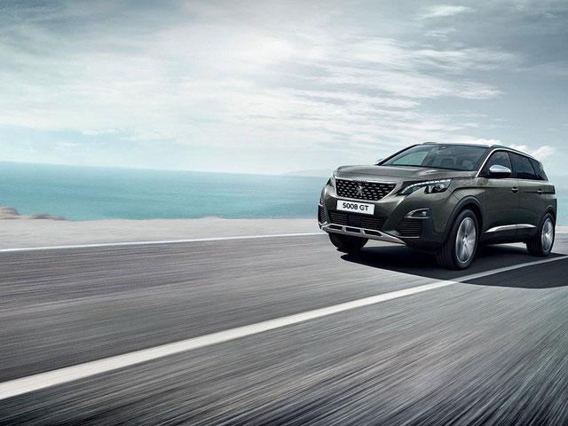 Nuevo SUV Peugeot 5008 diseño exterior deportivo