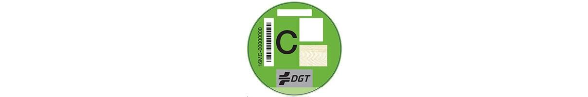 Etiqueta ambiental C Peugeot