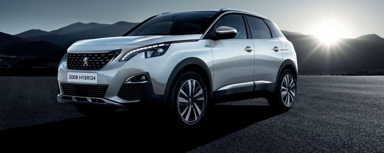 SUV Peugeot 3008 Hybrid4 - Estilo sugerente