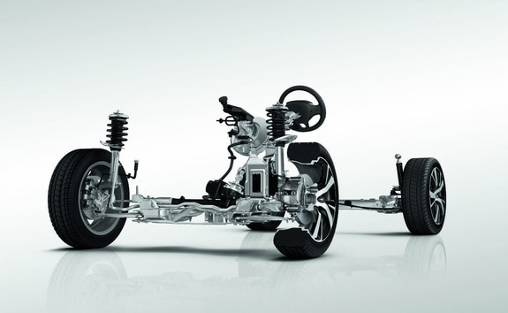SUV PEUGEOT 2008 : estructura de carrocería ultraligera