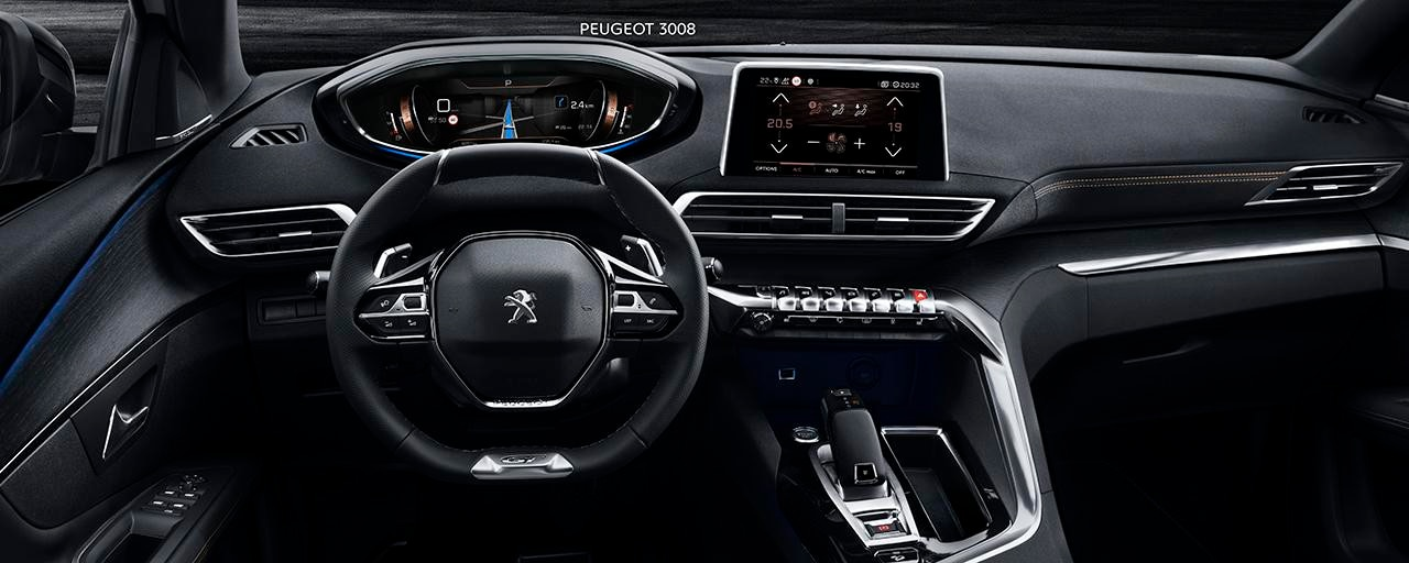 SUV PEUGEOT 3008 :PEUGEOT i-Cockpit®