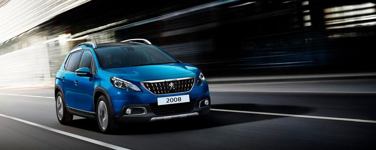 SUV Peugeot 2008 - Diseño compacto y robusto