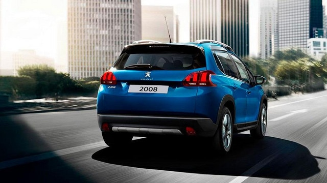 SUV Peugeot 2008 - Diseño robusto