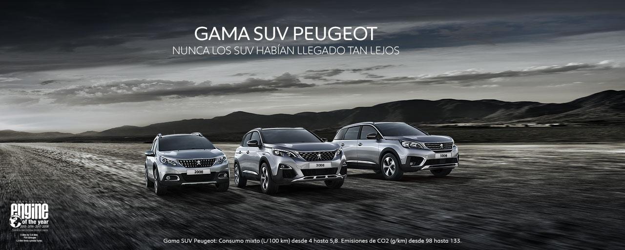 Gama SUV Peugeot 2018: Nunca los SUV habían llegado tan lejos