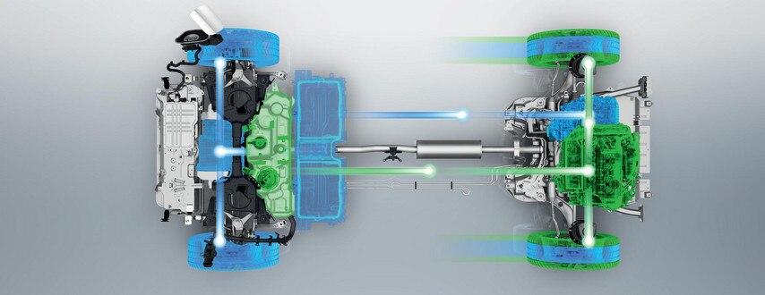 SUV PEUGEOT 3008 HYBRID4: batería de iones de litio
