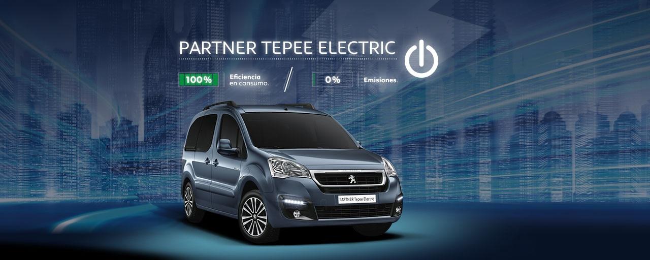 Peugeot Partner Tepee Electric Vehículo Eléctrico