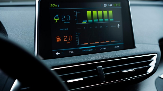 SUV PEUGEOT 3008 HYBRID4 - Pantalla táctil HD