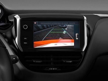 Peugeot 208 iPhone Cámara