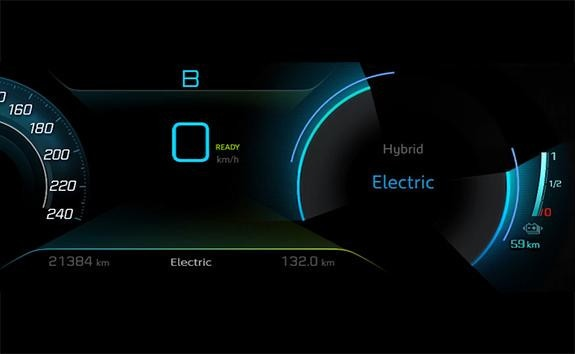 SUV PEUGEOT 3008 HYBRID4 : Modo Electric