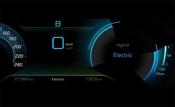 SUV PEUGEOT 3008 HYBRID4 : Modo Electric