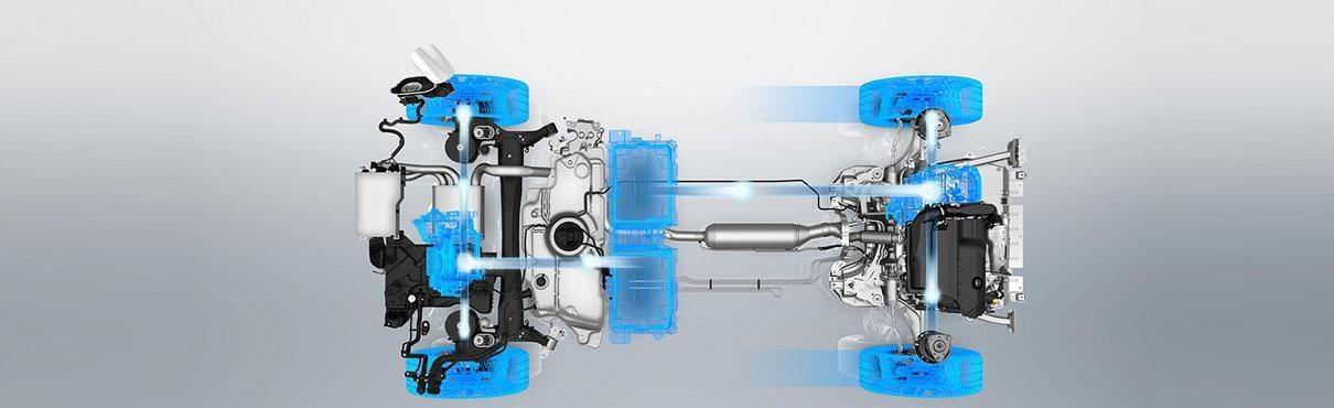 Motores Plug-in Hybrid eficiencia