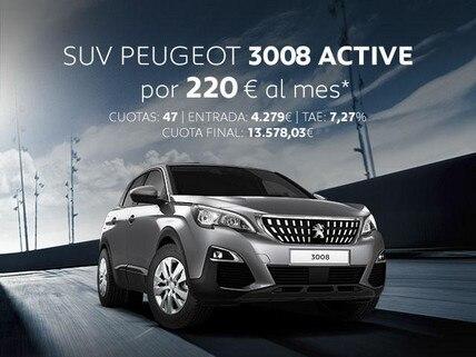 Oferta SUV Peugeot 3008 Active