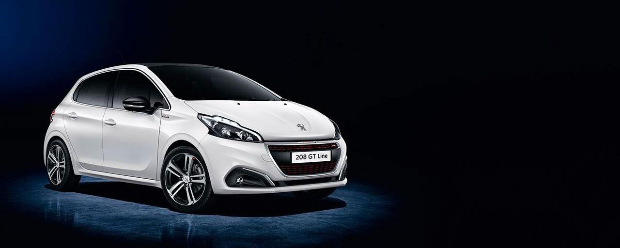 Peugeot 208 acabado GT Line