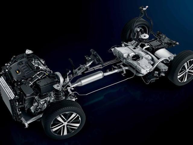 Plataforma EMP2 Nuevo SUV Peugeot 3008