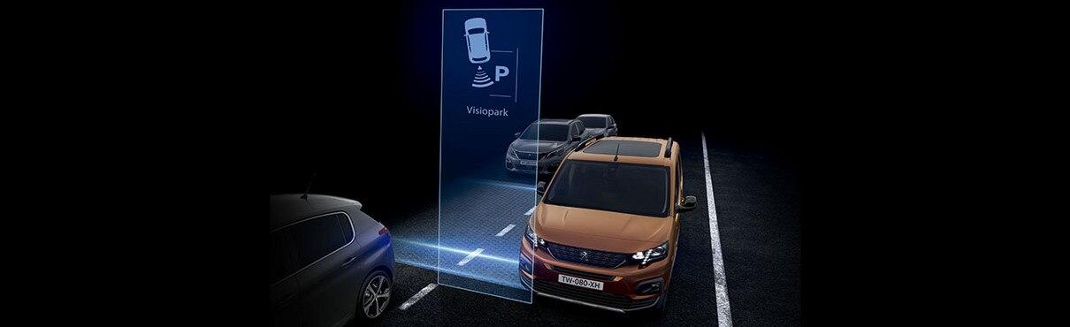 Asistente aparcamiento con cámara Indicador marcha atrás camara de vision trasera