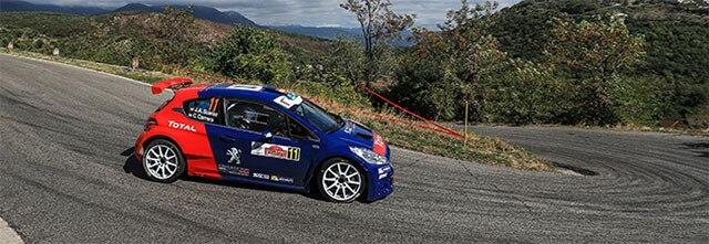 Peugeot Rally Academy en Roma