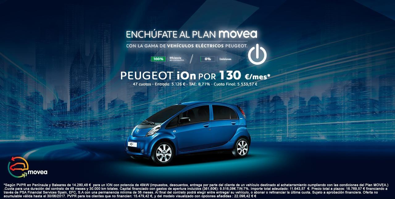 Oferta Peugeot ion