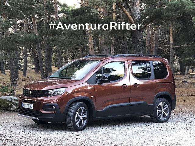 Peugeot Rifter - Aventura Peugeot Rifter