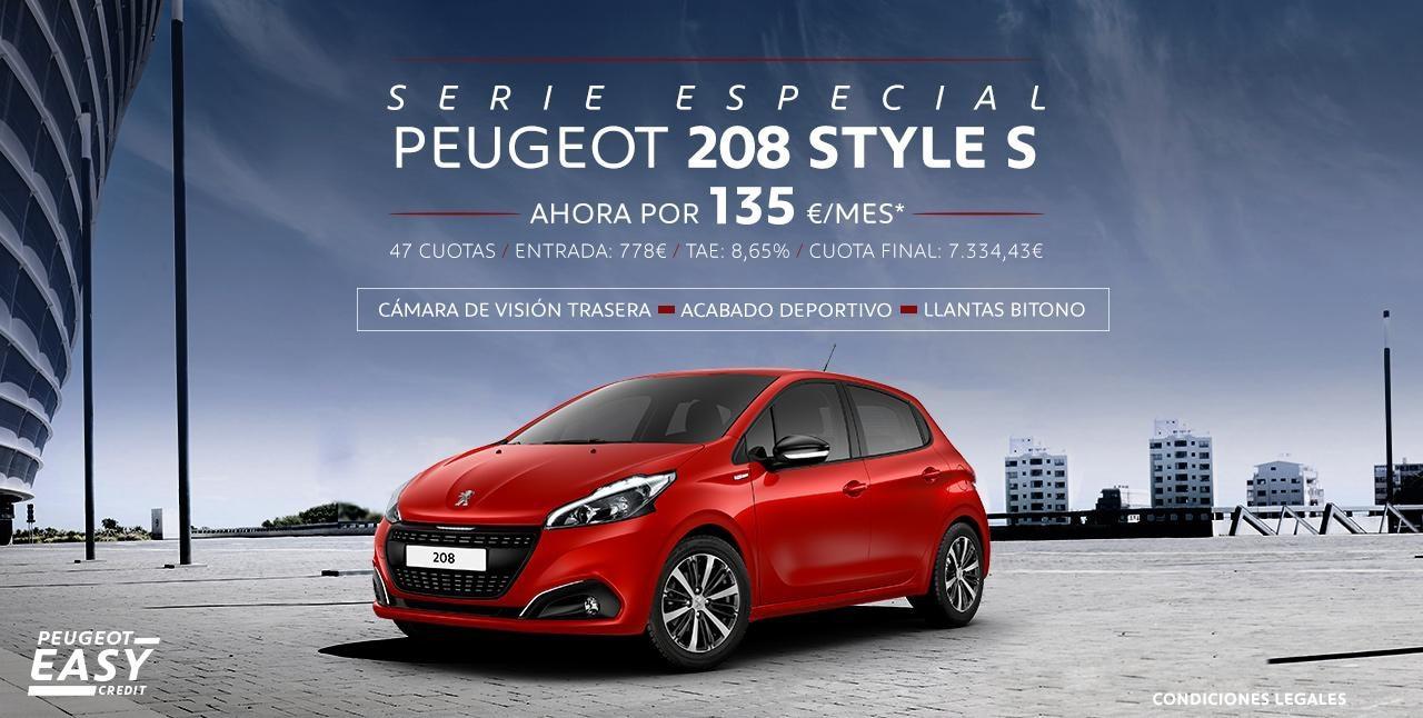 Peugeot 208 Serie Especial